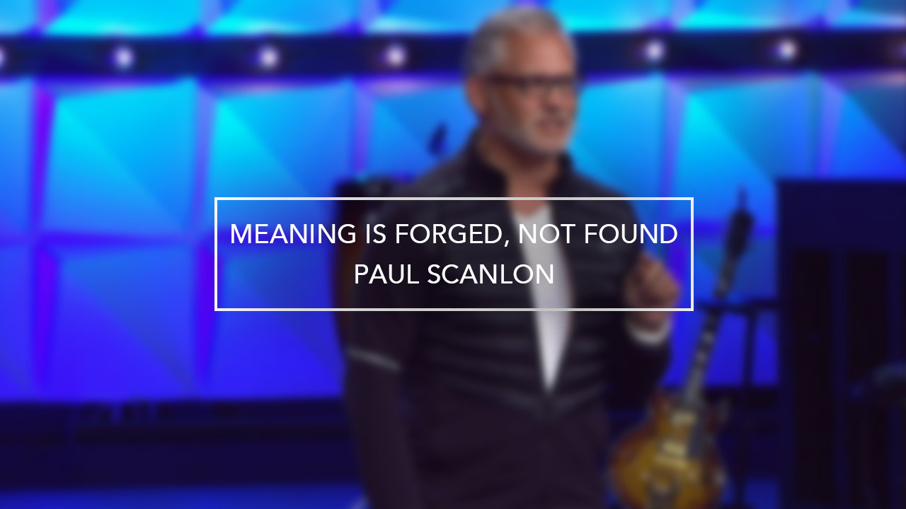 Meaning is Forged, Not Found